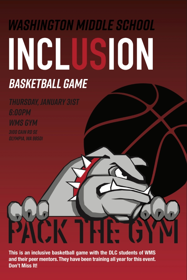 WMS Inclusion Basketball Game